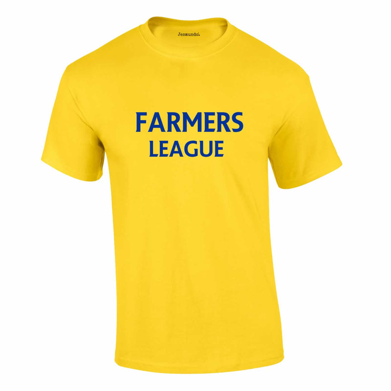 Farmers League Top In Yellow