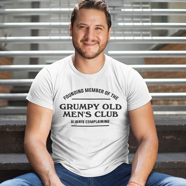 Founding Member Of The Grumpy Old Men's Club Tee