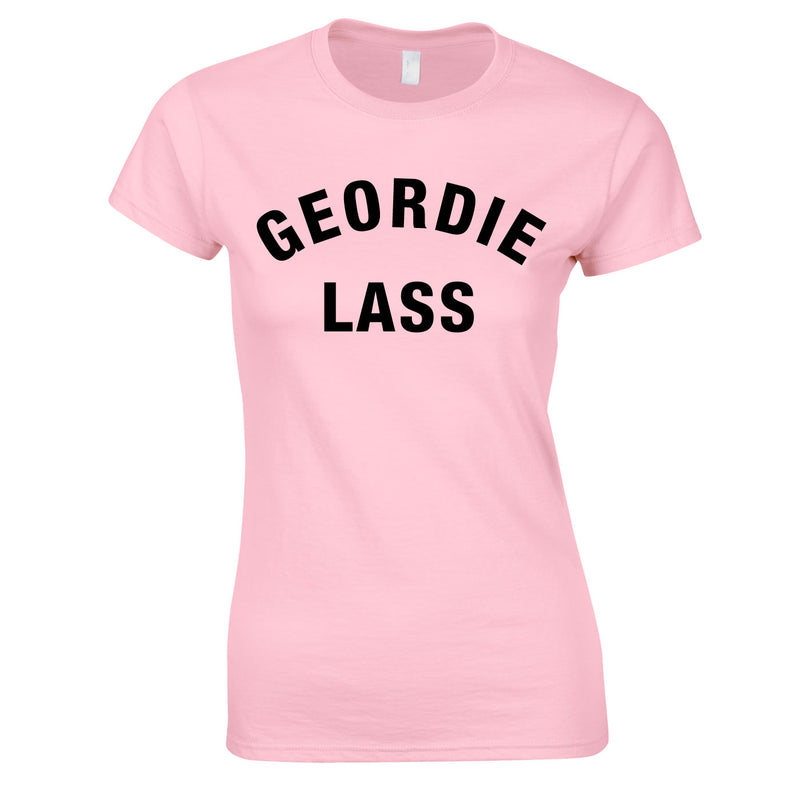 Geordie Lass Top In Pink