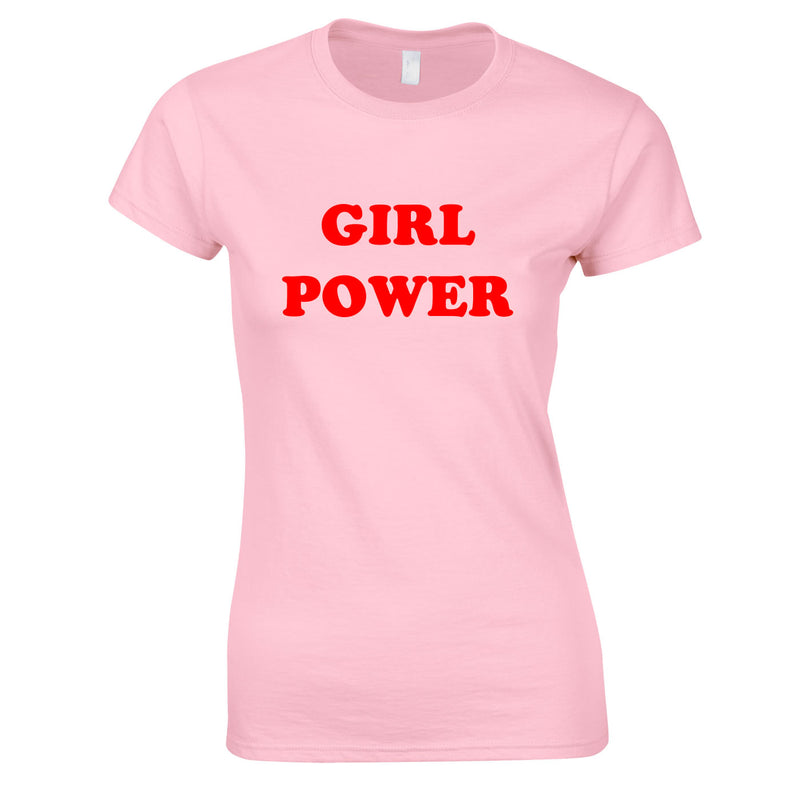 Girl Power Top In Pink