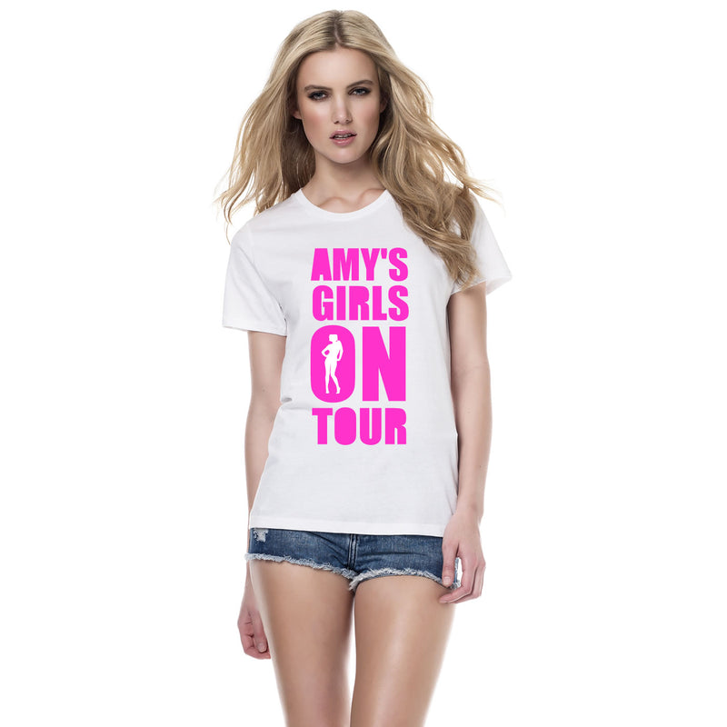 Girls On Tour Hen Do Tops