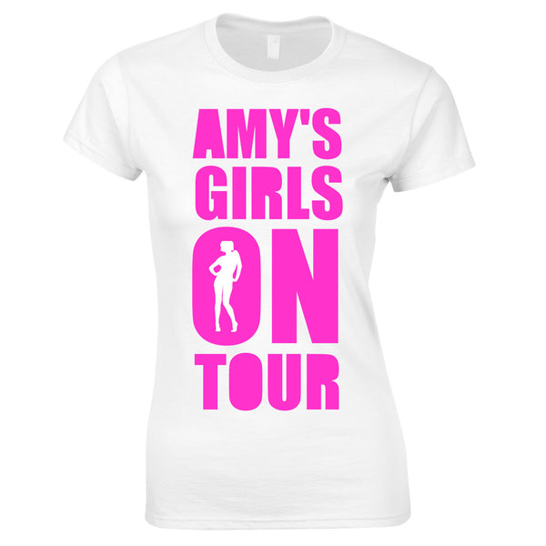 Girls On Tour Custom Printed T Shirts