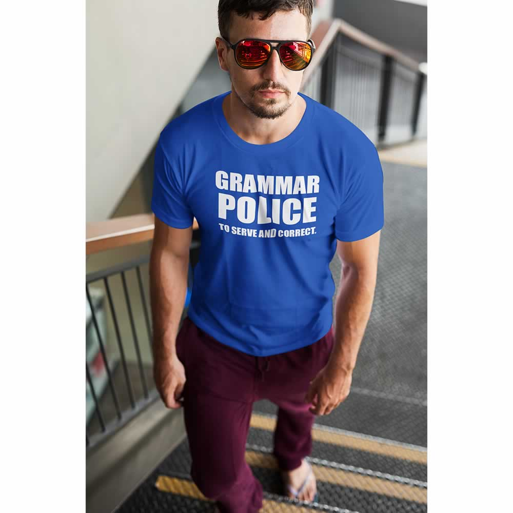 Grammar Police To Correct And Serve Tee
