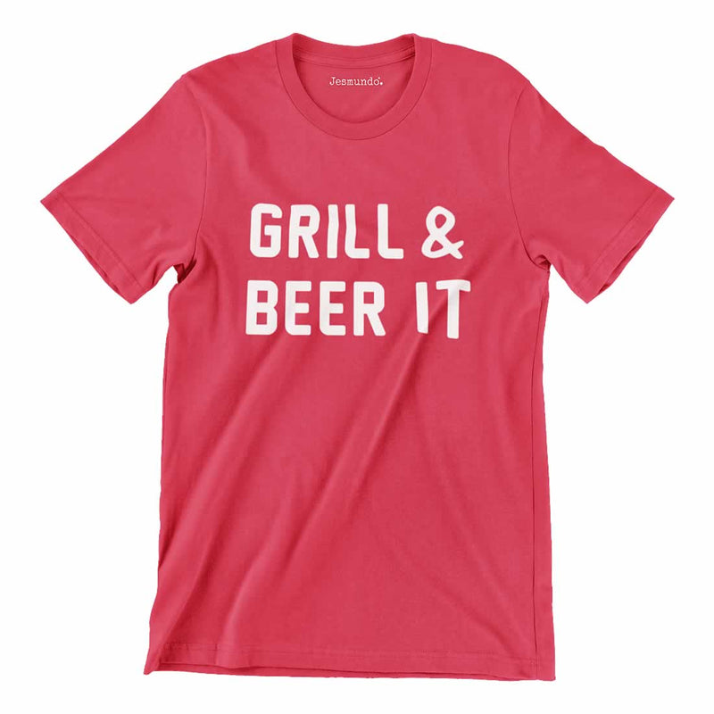 Grill And Beer It T Shirt