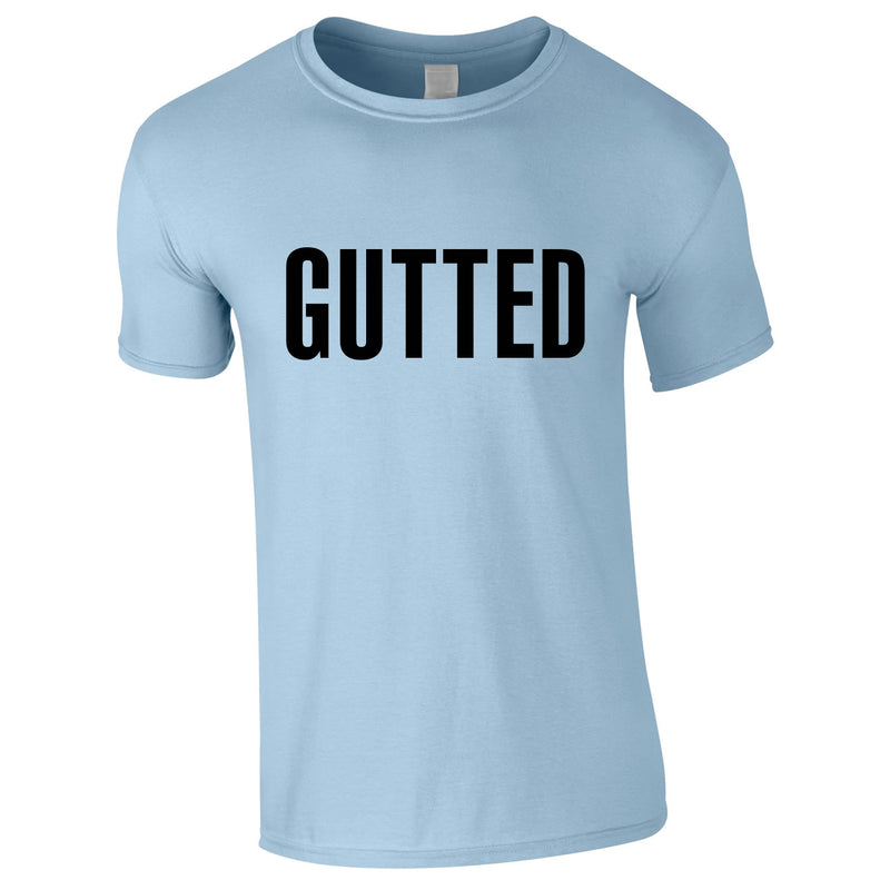 Gutted Tee In Sky