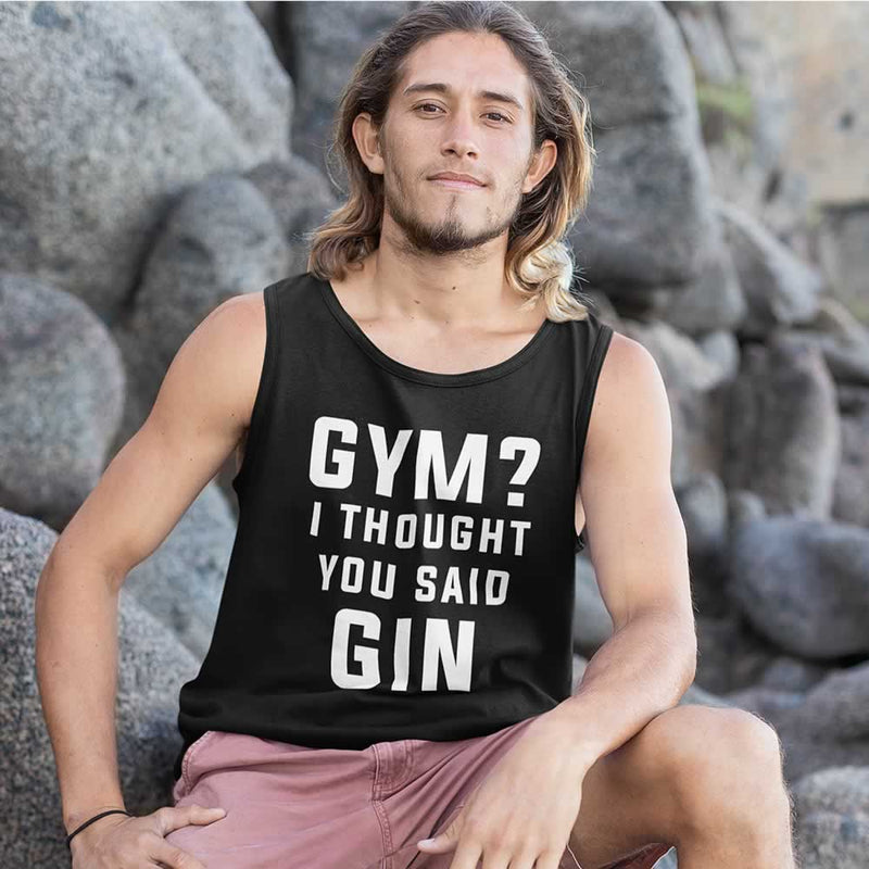 Gym? I Thought You Said Gin Men's Vest