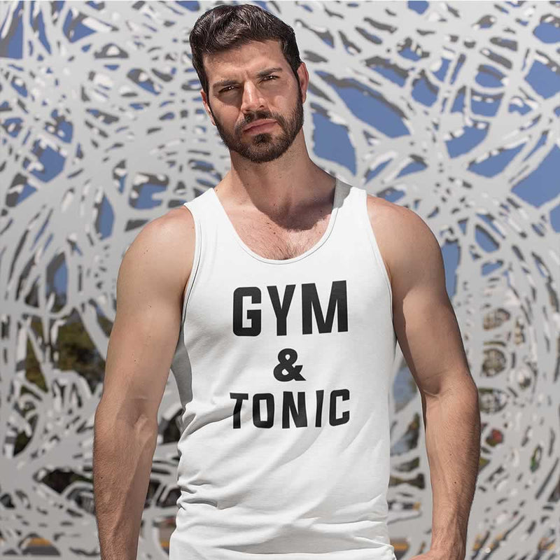 Gym And Tonic Vest Top For Men