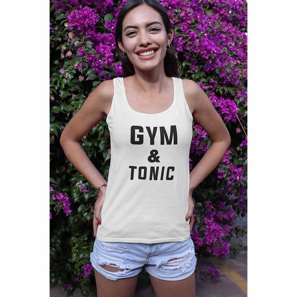 Gym And Tonic Vest Top For Women