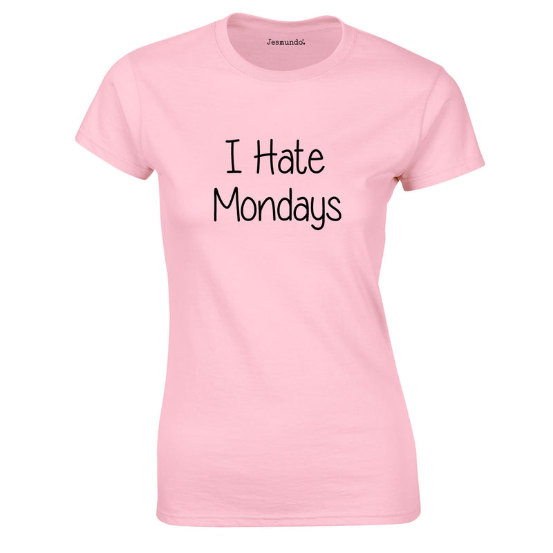 I Hate Mondays Women's Top In Pink