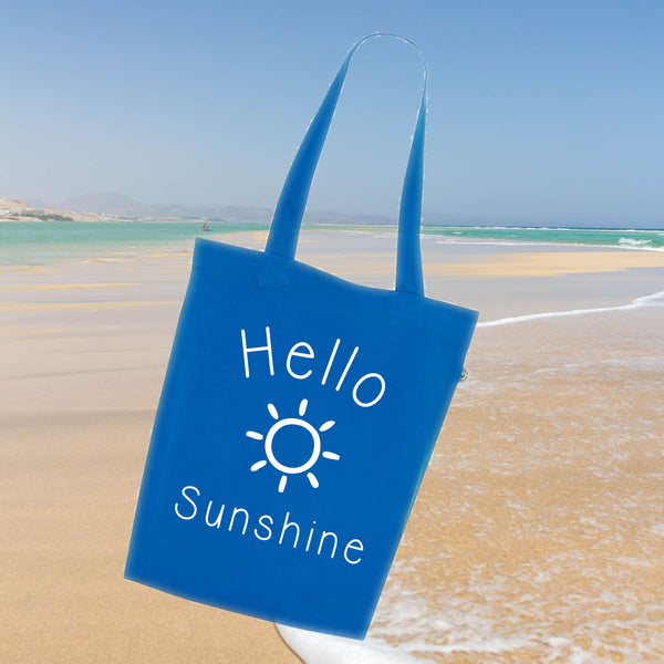 Hello Sunshine Holiday Tote Bag