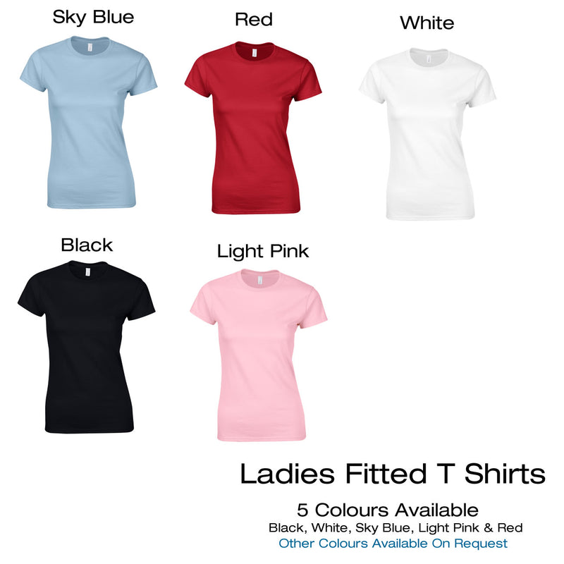 Different Colours Of Women's T Shirts Available