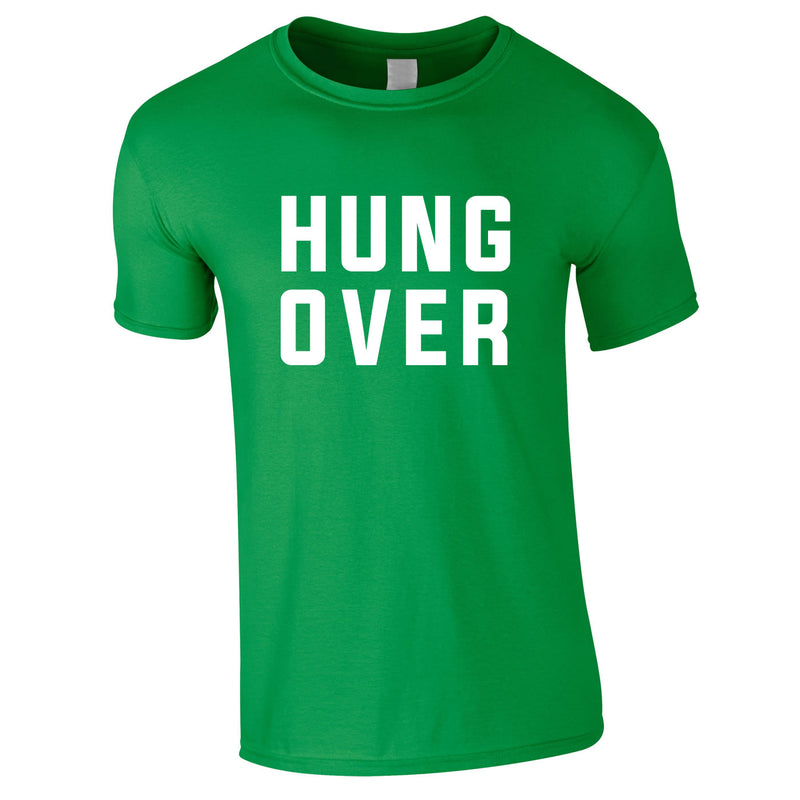 Hung Over Tee In Green