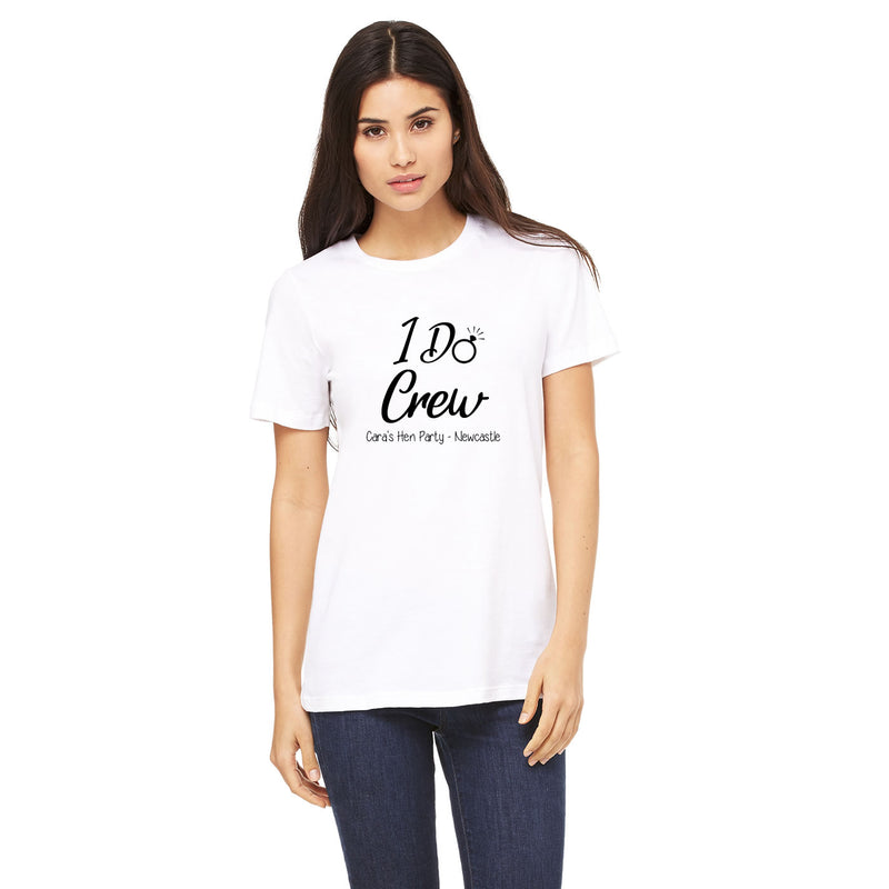 I Do Crew Hen Party Tops