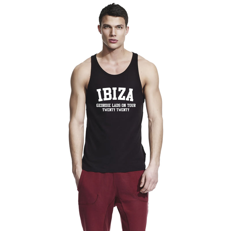 Ibiza Lads Holiday Custom Printed Vest Tops