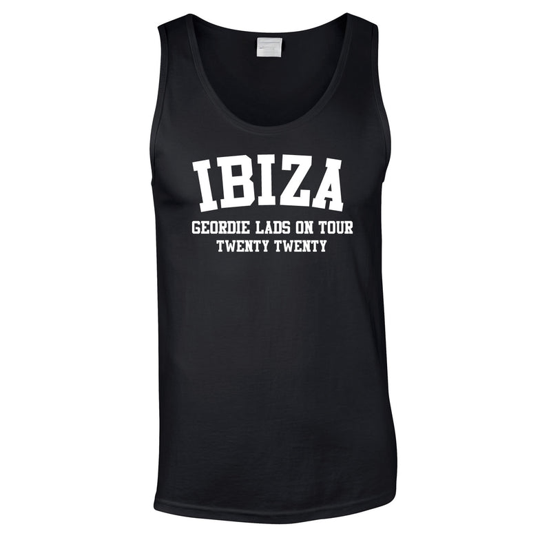 Ibiza Lads Holiday Vest Tops