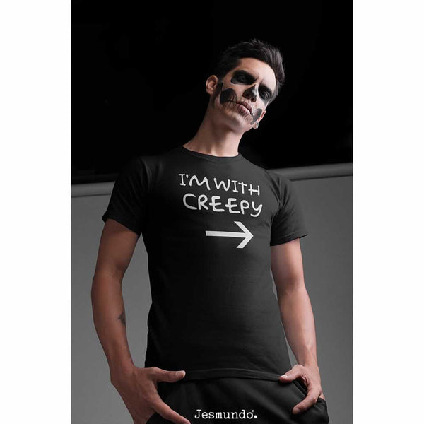 Men's I'm With Creepy Tee