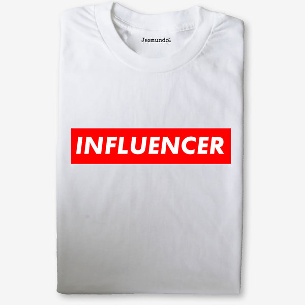 Influencer Slogan Tee