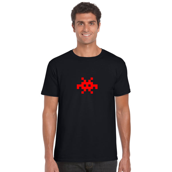 Invader Retro Graphic T Shirt