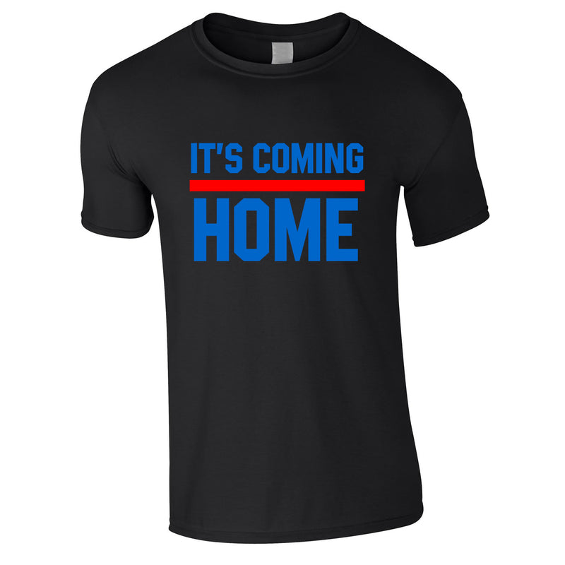 It's Coming Home Tee In Black