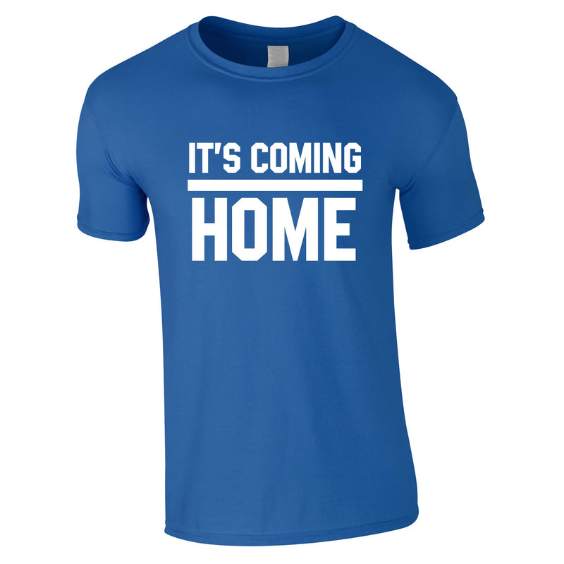 It's Coming Home Tee In Royal