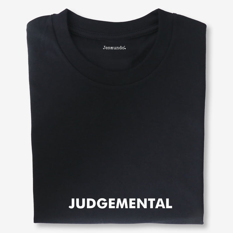 Judgemental Men's Slogan Tee