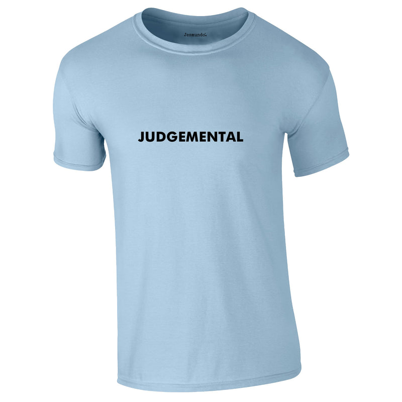 Judgemental Tee In Sky