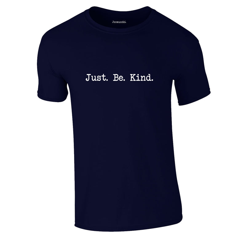 Just Be Kind Tee In Navy