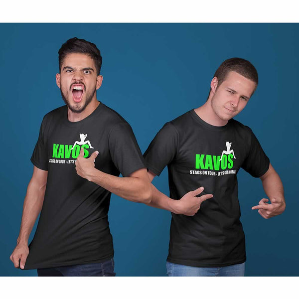 Kavos Lads Holiday Custom T Shirts