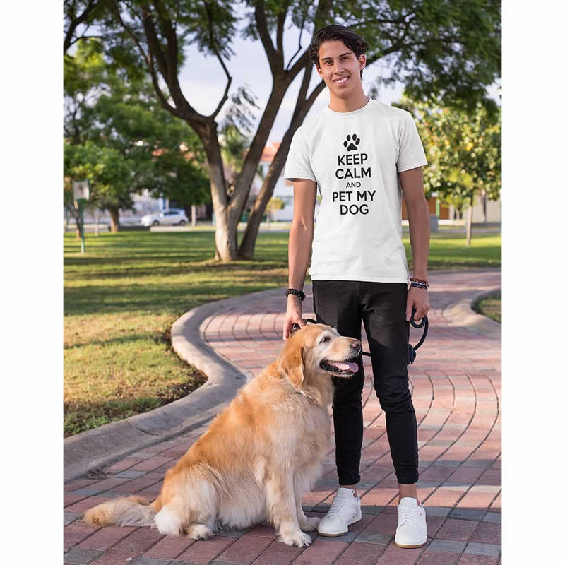 Keep Calm And Pet My Dog T-Shirt