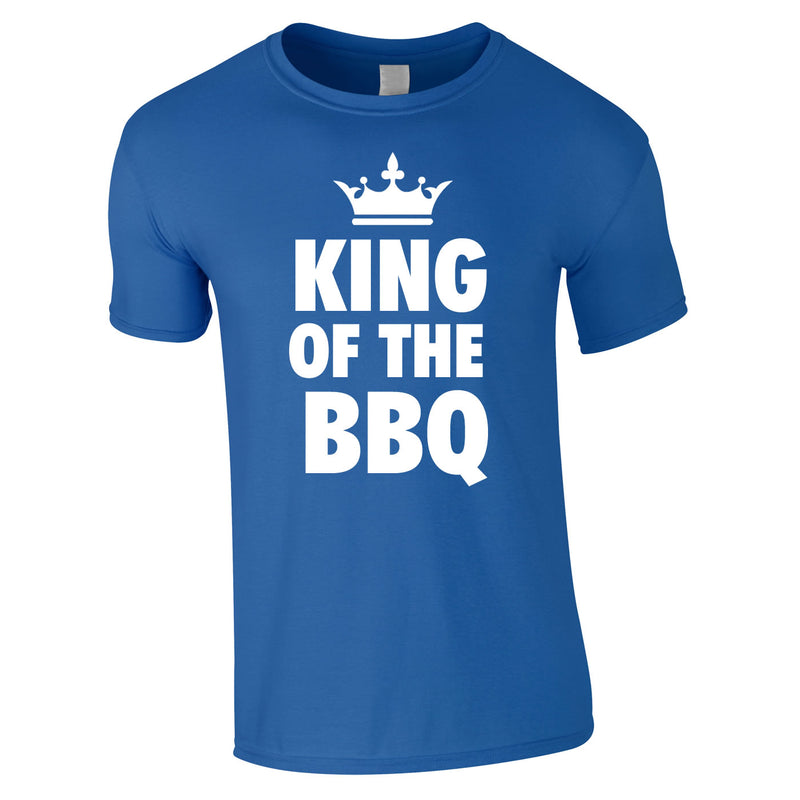 King Of The BBQ Tee In Royal