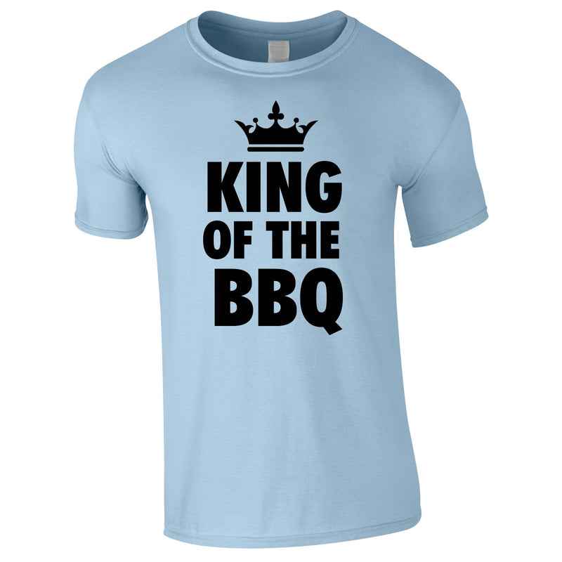 King Of The BBQ Tee In Sky
