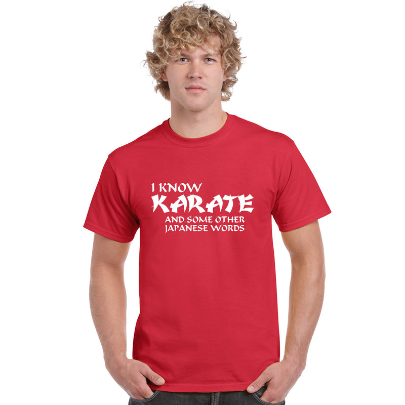 I Know Karate And Some Other Japanese Words T Shirt