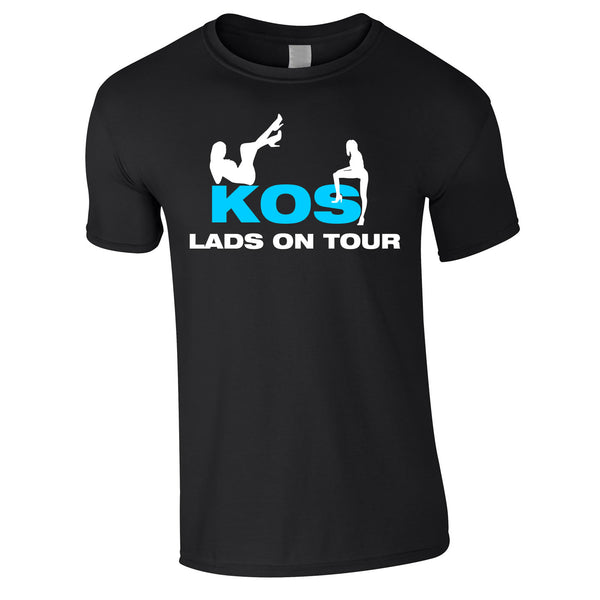 Kos Lads Holiday T Shirt Custom Printed