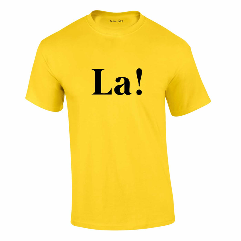 La Tee In Yellow