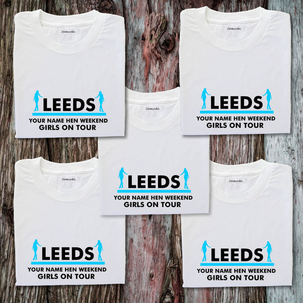 Leeds Hen Weekend T Shirts