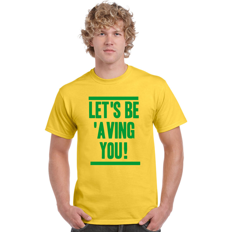 Let's Be 'Aving You T Shirt Delia Smith Norwich City