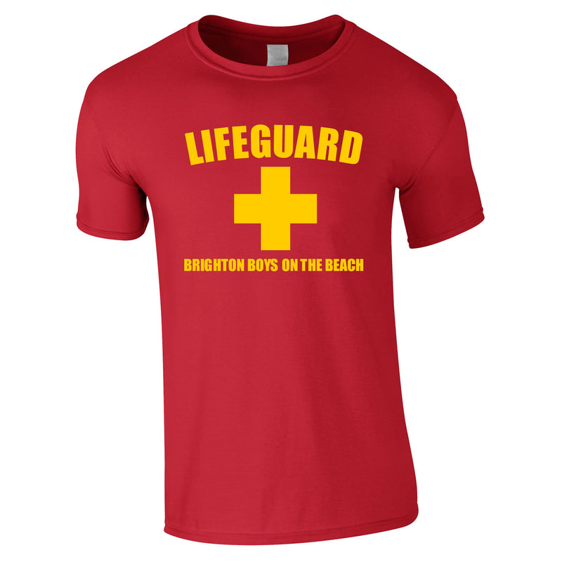 Lifeguard T Shirts Personalised Printed For Stag Do