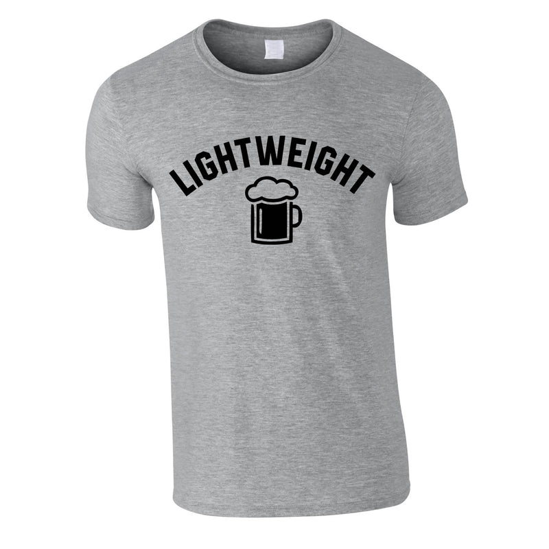 Lightweight Tee In Grey