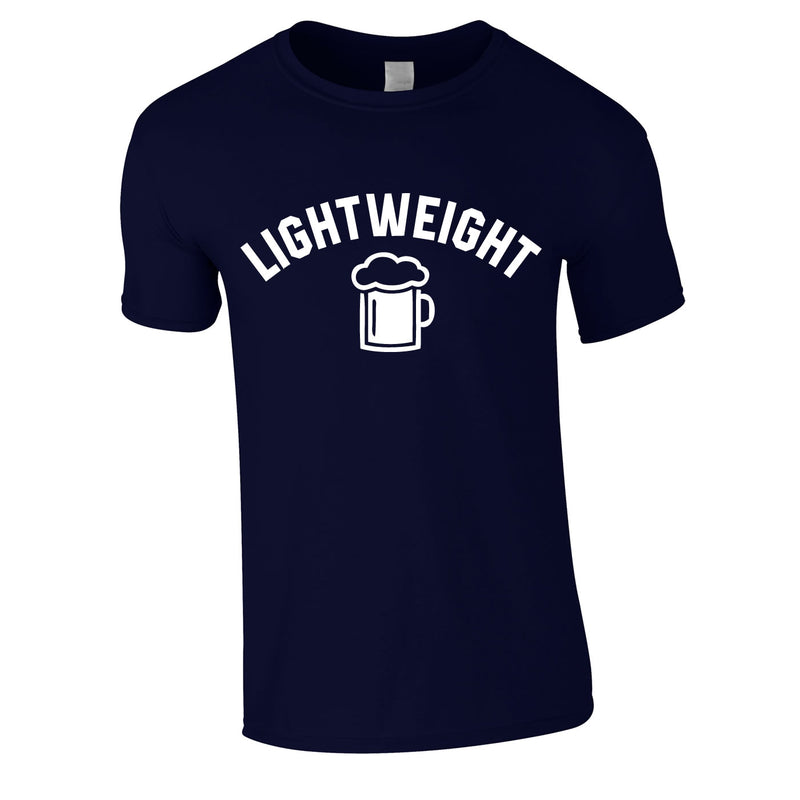 Lightweight Tee In Navy