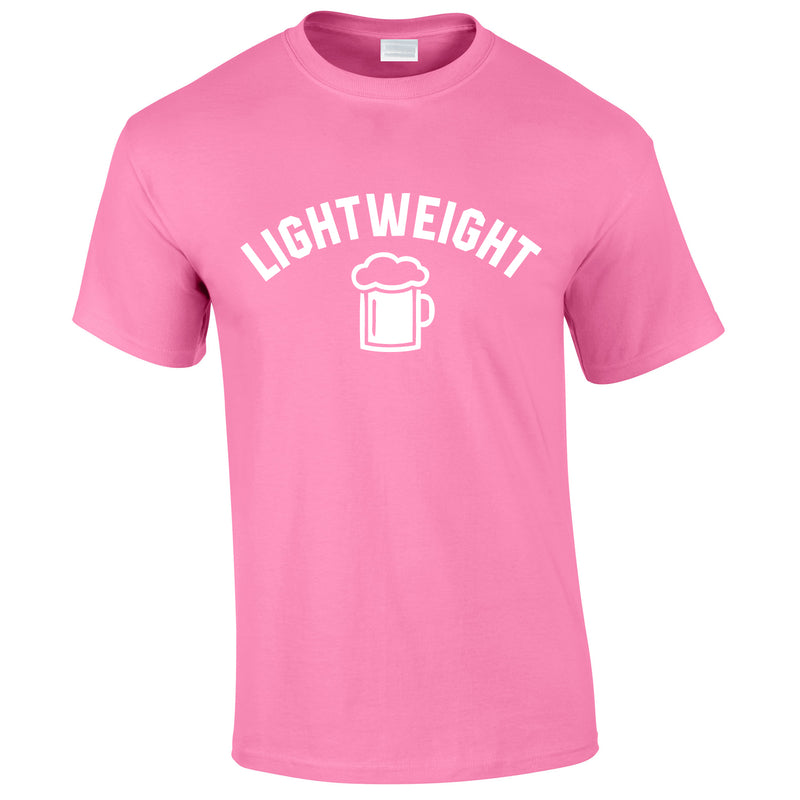 Lightweight Tee In Pink