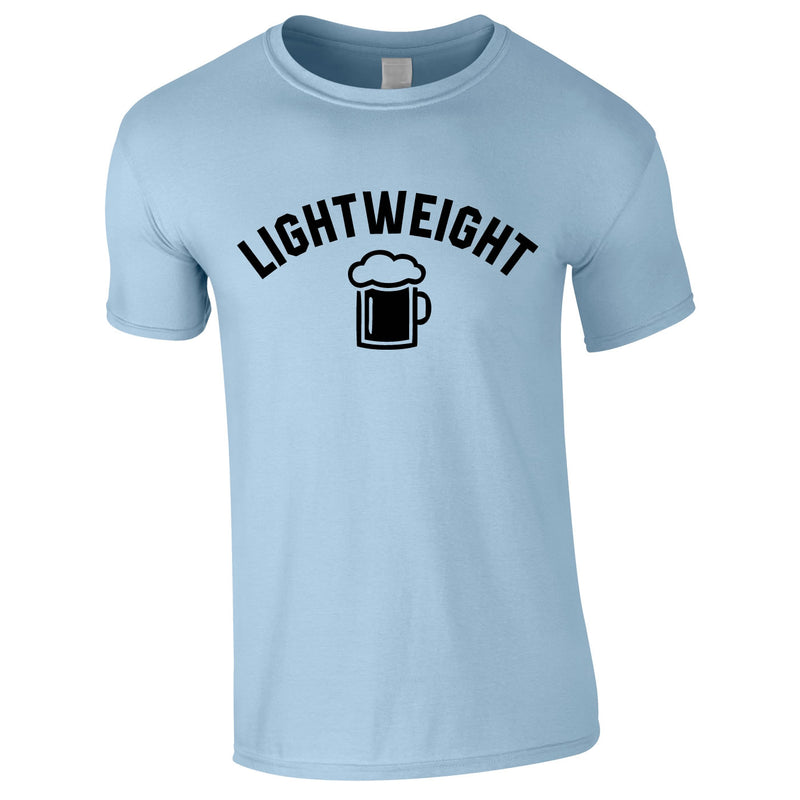 Lightweight Tee In Sky