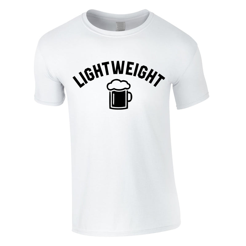 Lightweight Tee In White