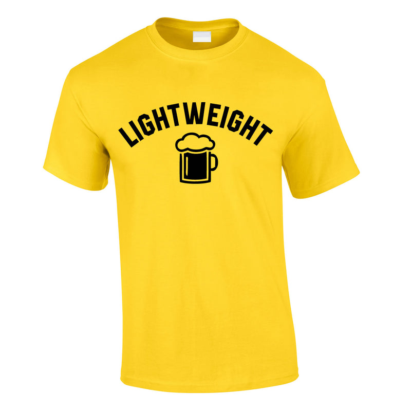 Lightweight Tee In Yellow