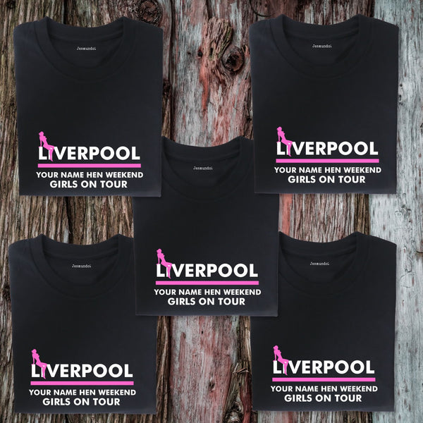 Liverpool Hen Weekend T Shirts