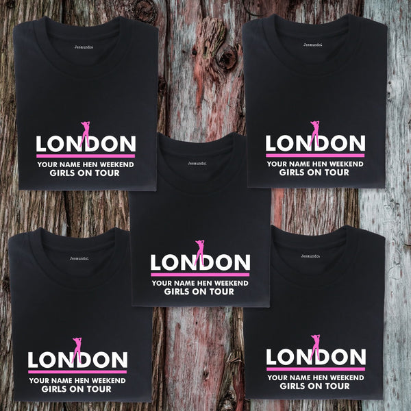 London Hen Weekend T Shirts