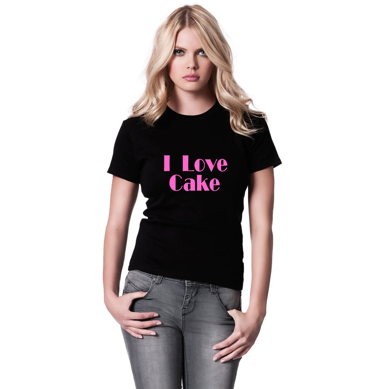 I Love Cake Women's T Shirt