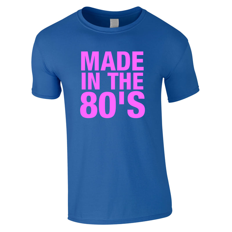 Made In The 80's Tee Royal