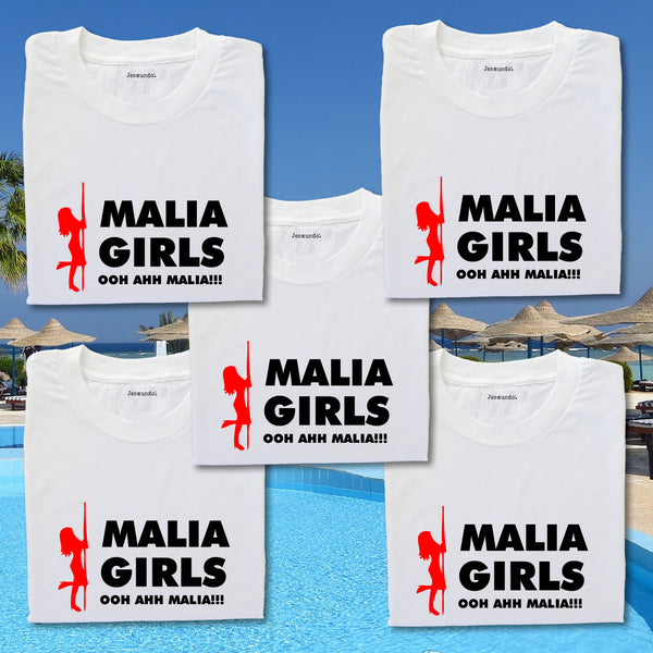 Malia Girls Holiday T Shirts Custom Printed