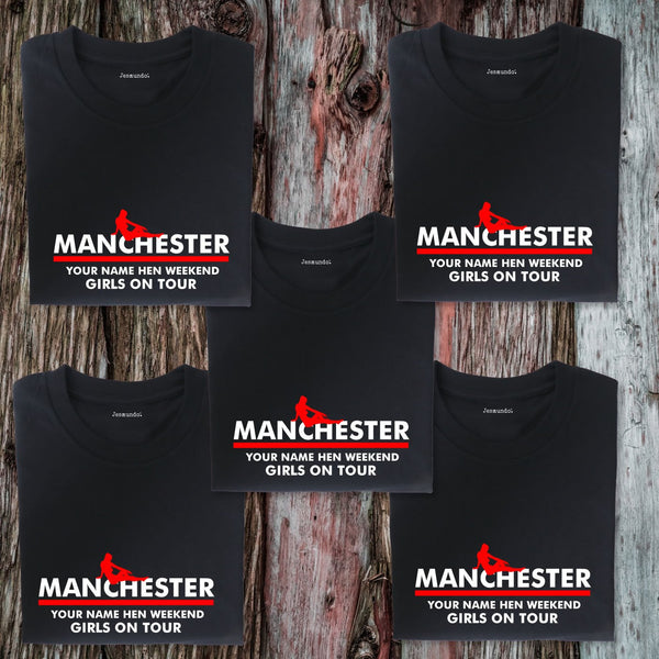 Manchester Hen Weekend T Shirts