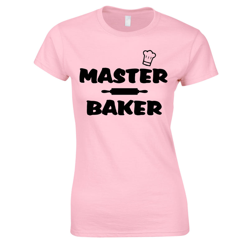 Master Baker Top In Pink
